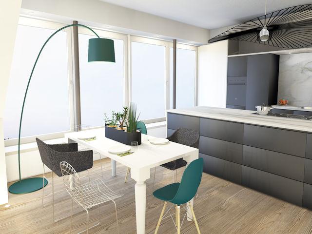 Küche und Wohnraum - Team Held Creativ